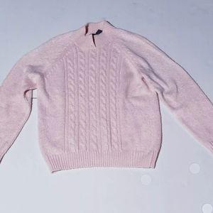 Karen scott knitted sweater medium Pink